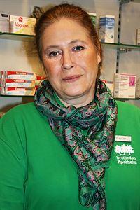 Apothekerin, Frau-Iske
